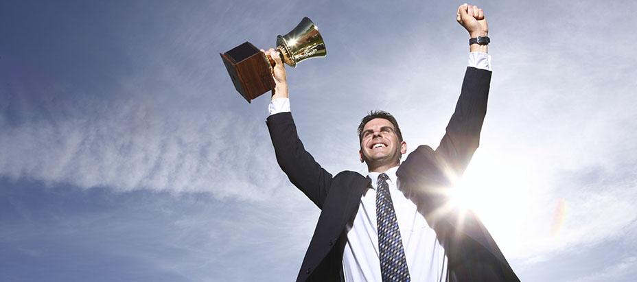 Бизнесмен - победитель